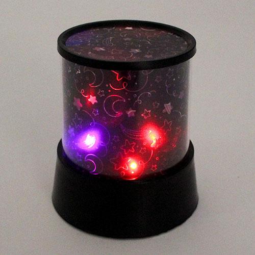 Proyector de estrella que cambia de color 12cm