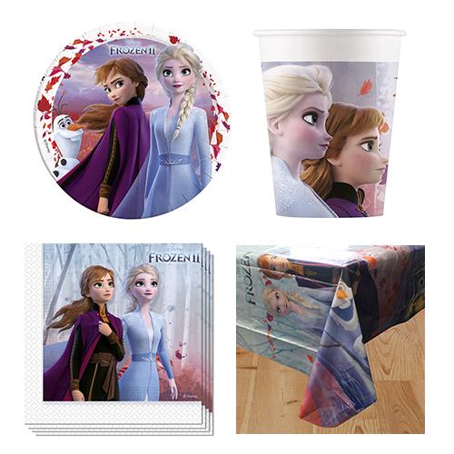 Disney Frozen II Paquete De Fiesta Para 8 Personas