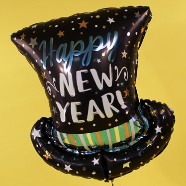 Globos temáticos de año nuevo