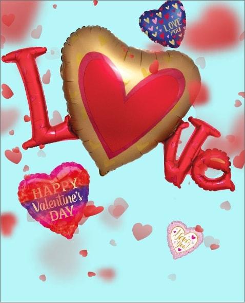 Fiesta del día de San Valentín