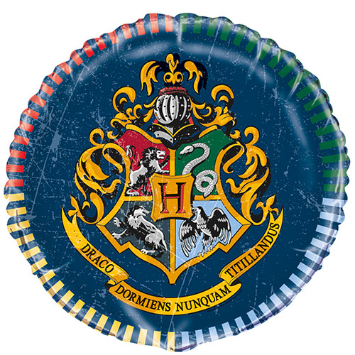 Harry Potter Globo De Helio De Aluminio Redondo 46Cm / 18 In