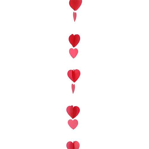 Día De San Valentín Surtido Corazones Rojos Cola Globo 125Cm