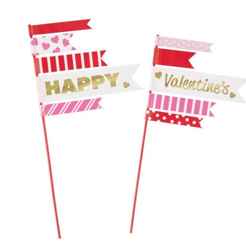 Selecciones De Topper De Pastel De San Valentín - Paquete De 2