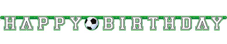 Feliz Cumpleaños De Fútbol 3D Agregue Un Banner De Carta Articulada De Edad De 213 Cm