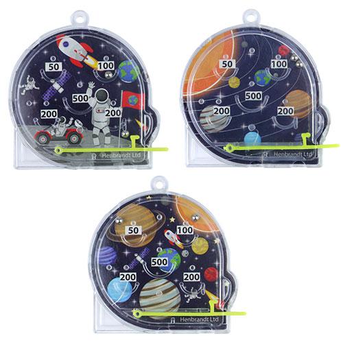 Mini Juego De Pinball Espacial Variado