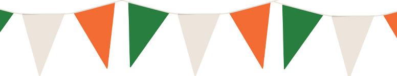 Banderín De Nylon De Irlanda 7M