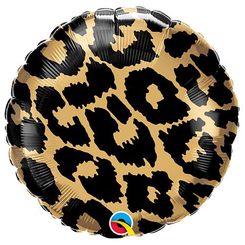 Patrón De Manchas De Leopardo Lámina Helio Qualatex Globo 46Cm / 18 In