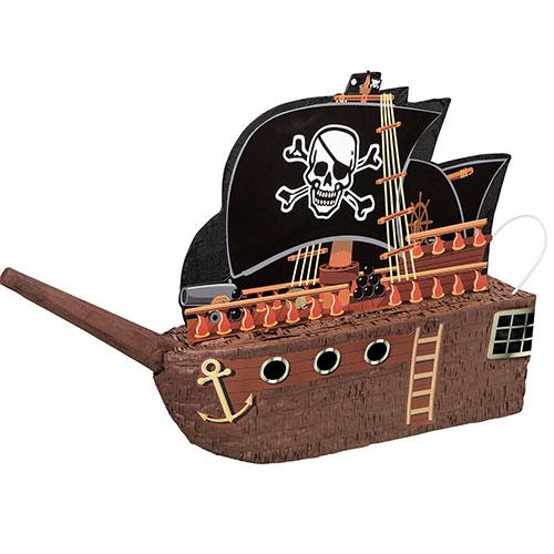 Piñata Estándar De Barco Pirata