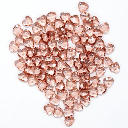 Oro Rosa 12Mm Corazón Diamantes Gemas De Mesa Premium 28G