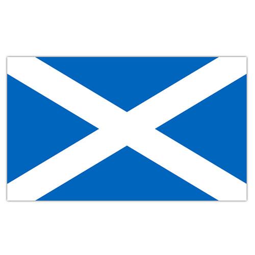 Escocia St. Bandera De La Cruz De Andrew 5 X 3 Pies