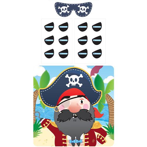 Pegar El Parche En El Ojo Juego De Fiesta Pirata