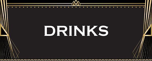 Decoración De Letrero De Fiesta De Pvc De Bebidas Blancas 60 Cm X 25 Cm