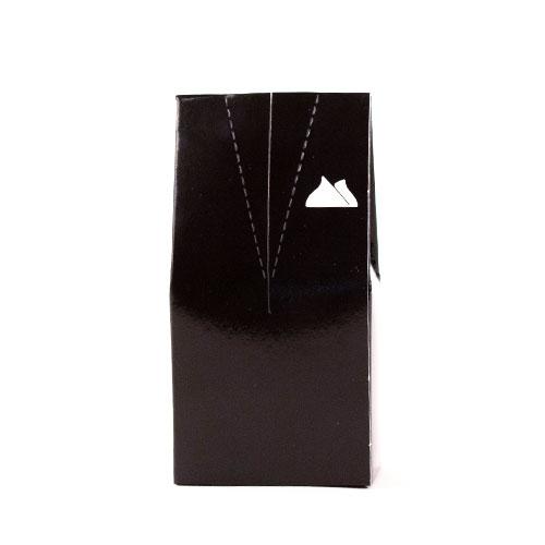 Esmoquin Negro Con Pañuelo Blanco Caja De Favores