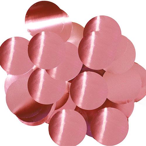 Rosa Claro 25Mm Confeti De Mesa De Papel Redondo Gigante 50G