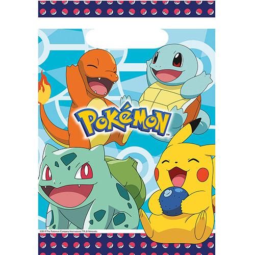 Pokemon Bolsas De Botín Del Partido - Paquete De 8