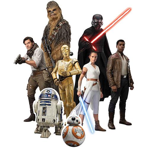 Decoraciones De Recortes De Mesa De Star Wars Rise - Paquete De 8