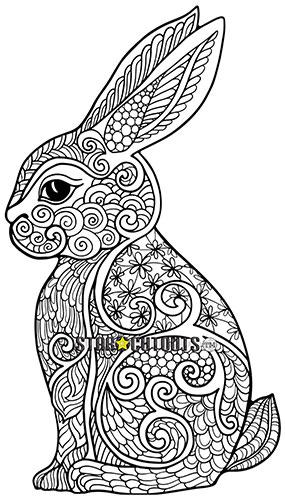 Lindo Diseño De Conejo Color Artesanía Estrella Mini Recorte De Cartón 94Cm