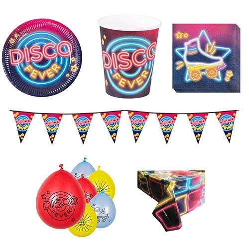 Paquete De Fiesta De Lujo Para 6 Personas Con Fiebre Disco