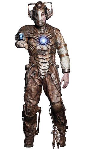 Médico Que Tenía Al Solitario Cyberman Recorte De Cartón De Tamaño Natural De 193 Cm