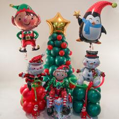Globos y Accesorios de Navidad