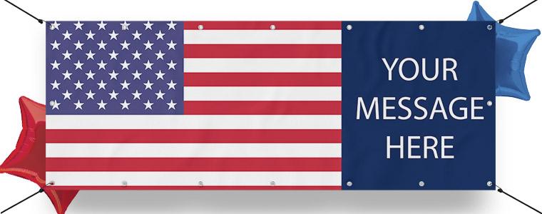 Banners personalizados de EE. UU.