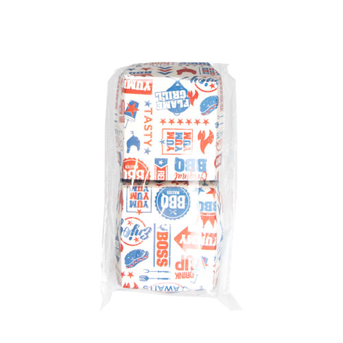 Cajas De Papel Para Hamburguesas BBQ - Paquete De 6
