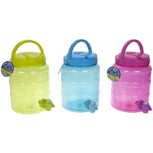Dispensador De Bebidas De Plástico Surtido Con Grifo 2L