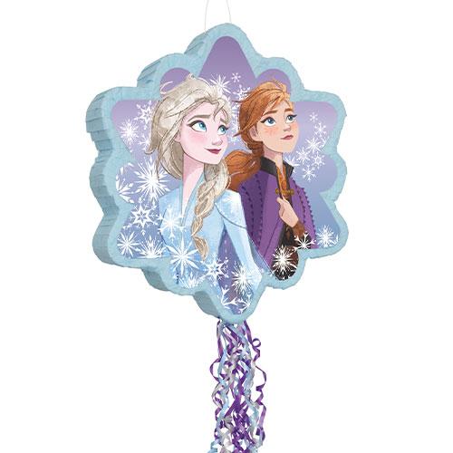 Piñata De Cadena De 2 Tiras Congeladas De Disney