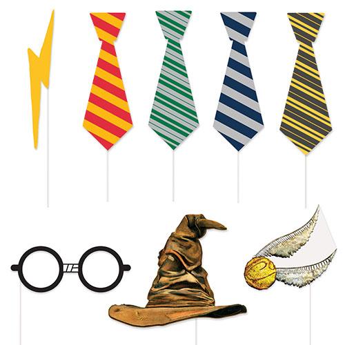 Accesorios De Fotomatón Harry Potter - Paquete De 8