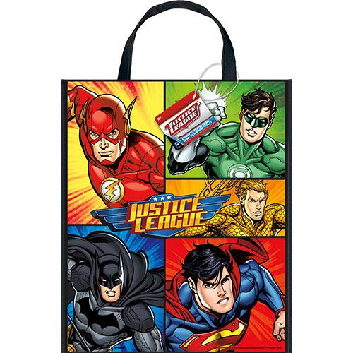 Bolsa De Asas De Plástico De La Liga De La Justicia 33Cm X 28Cm