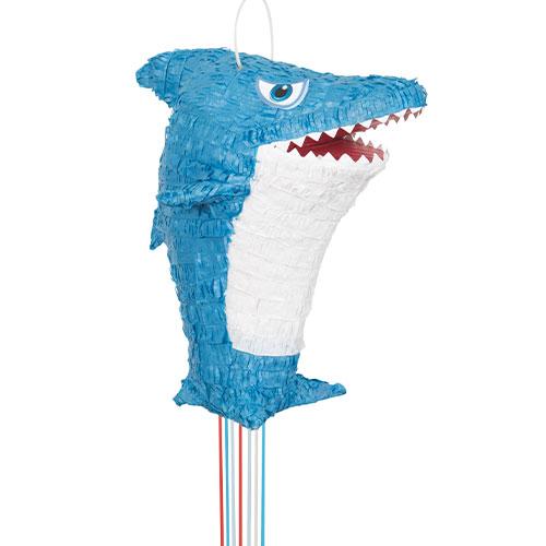 Tiburón 3D Cuerda De Tira Piñata