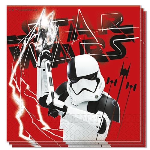 Servilletas Almuerzos De Star Wars El Último Jedi 33Cm 2Ply - Paquete De 20