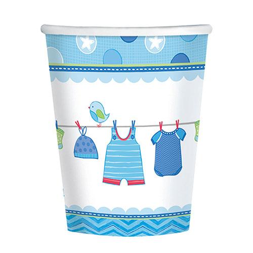 Es Un Vaso De Papel Para Bebé Niño 266Ml - Paquete De 8