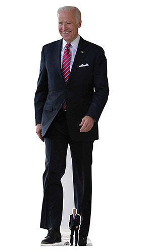 Joe Biden Recorte De Cartón De Tamaño Natural 183Cm