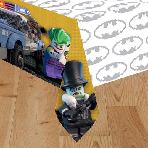 Mantel De Plástico Lego Batman Movie 243Cm X 137Cm