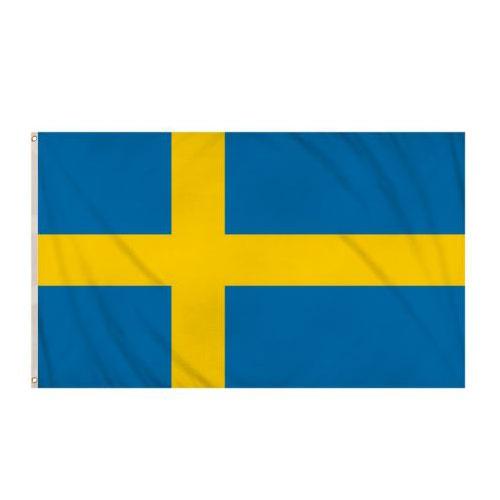 Bandera De Suecia 5 X 3 Pies