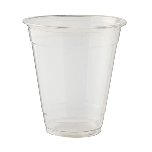 Vasos Compostables Transparentes Pla 340Ml / 12 Oz - Paquete De 50