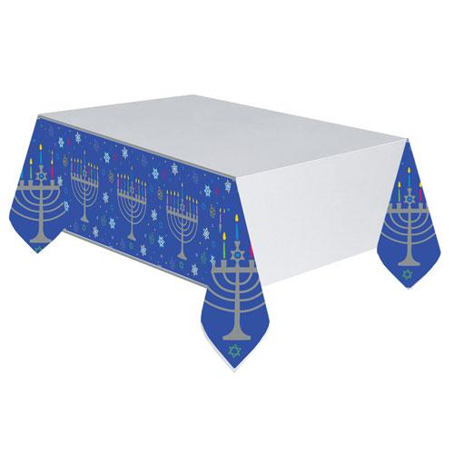Mantel De Plástico De Hanukkah 259Cm X 137Cm