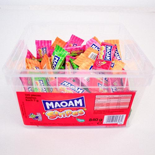 Caramelos Haribo Maoam - Paquete De 120