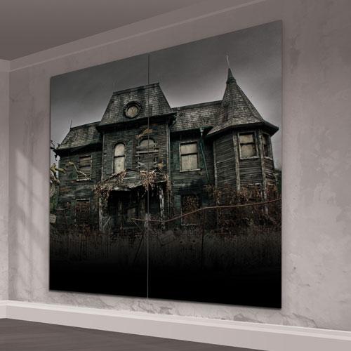 It Capítulo 2 Neibolt House Scene Setter Kit De Decoración De Pared Adicional Fondo De Halloween