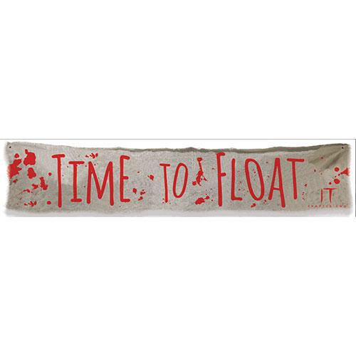 It Capítulo 2 'Hora De Flotar' Banner De Tela De Halloween 182Cm