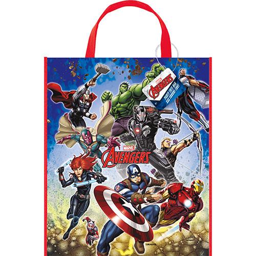 Bolso De Mano De Plástico Marvel Avengers 33Cm X 28Cm