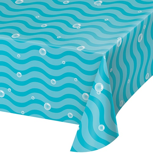 Ocean Celebration Sea Burbujas Mantel De Papel 259Cm X 137Cm