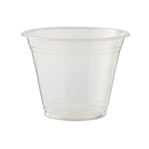 Vasos Compostables Transparentes Pla 255Ml / 9 Oz - Paquete De 50