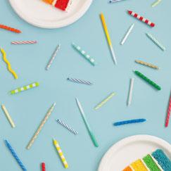 Velas de Color Liso