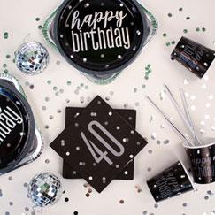 Temas De La Fiesta De Cumpleaños Número 40