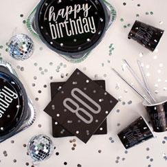 Temas De La Fiesta De Cumpleaños Número 80