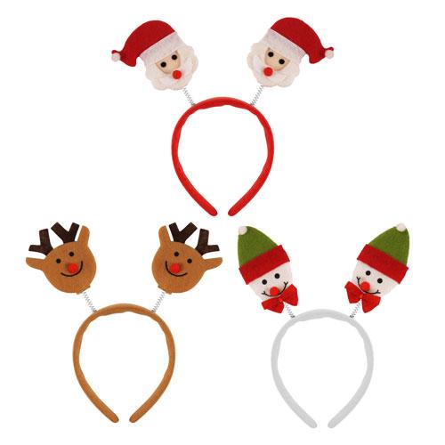 Surtido Cabeza De Navidad Boppers Diadema Disfraces De Navidad