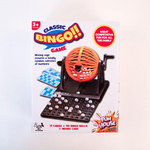 Juego De Bingo De Plástico Clásico 13Cm