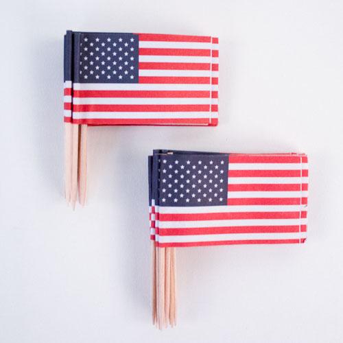 EE.UU. Bandera Sándwich del Banderas - Paquete de 30